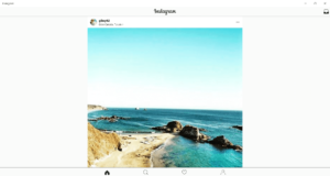 post to instagram from windows 10